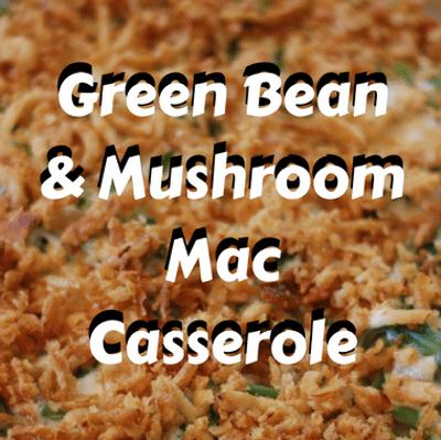Rachael Ray: Green Bean & Mushroom Mac Casserole Recipe