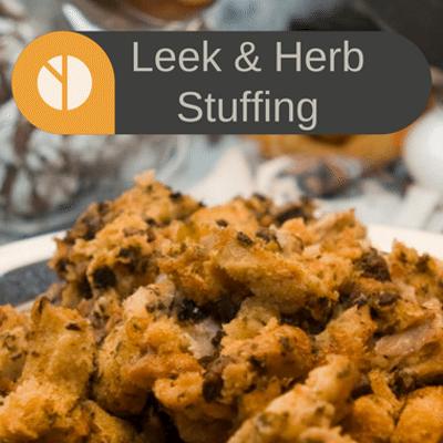 Rachael Ray: Curtis Stone Leek & Herb Stuffing Recipe