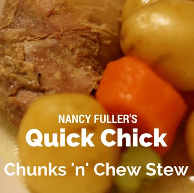 The Chew: Nancy Fuller Quick Chick Chunks 'N' Chew Stew Recipe