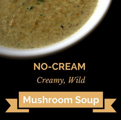 Rachael Ray: No-Cream, Creamy Wild Mushroom Soup Recipe