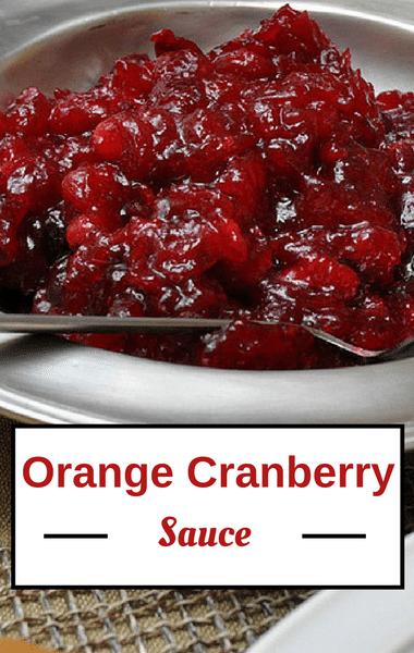 Rachael Ray: Emeril Lagasse Orange Cranberry Sauce Recipe