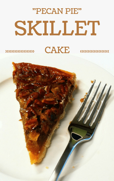 "Rachael Ray: ""Pecan Pie"" Skillet Cake Recipe"
