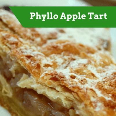 The Chew: Phyllo Apple Tart Recipe