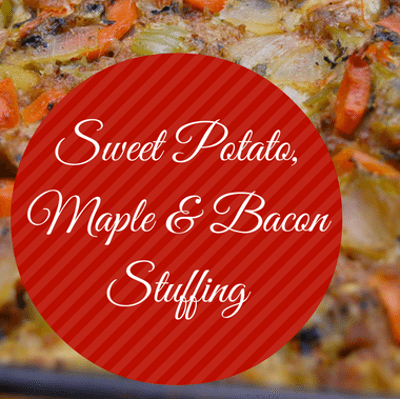 Rachael Ray: Clodagh McKenna Sweet Potato, Maple & Bacon Stuffing