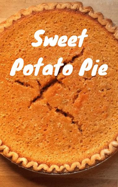 The Chew: Sweet Potato Pie Recipe
