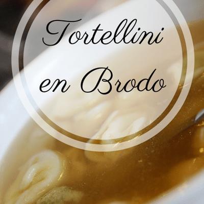 The Chew: Tortellini En Brodo Recipe