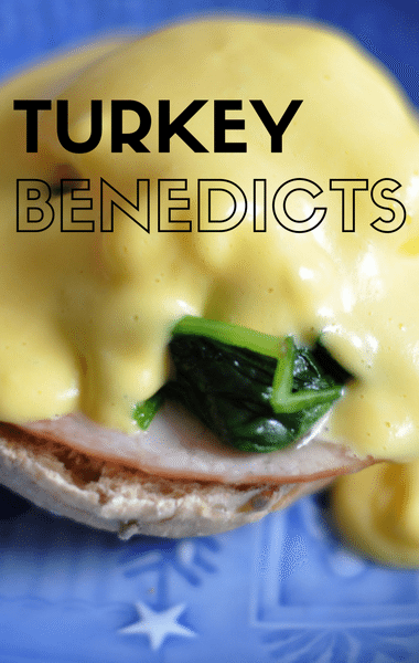 Rachael Ray: Breakfast-For-Dinner Turkey Benedicts Recipe