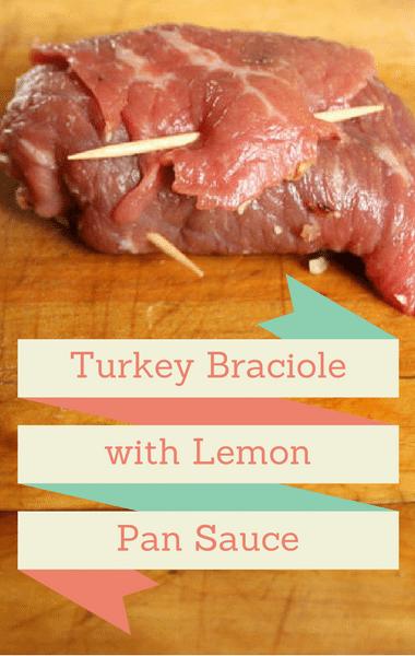 The Chew: Turkey Braciole With Lemon Pan Sauce Recipe