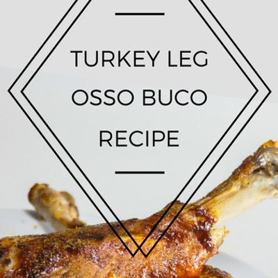 The Chew: Turkey Leg Osso Buco Recipe