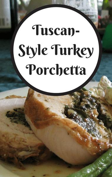The Chew: Tuscan-Style Turkey Porchetta Recipe