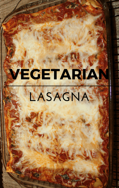 The Chew: Vegetarian Lasagna With Spinach & Swiss Chard Recipe