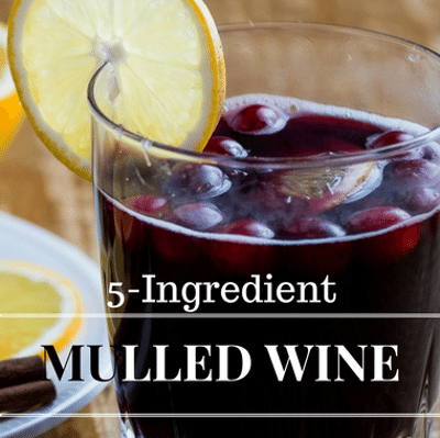 Rachael Ray: 5-Ingredient Mulled Wine Recipe