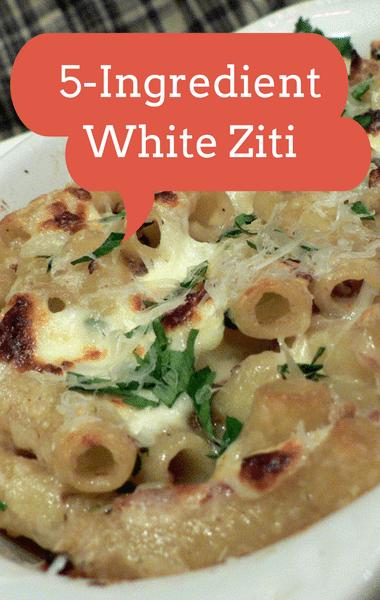 Rachael Ray: Five-Ingredient White Ziti Recipe