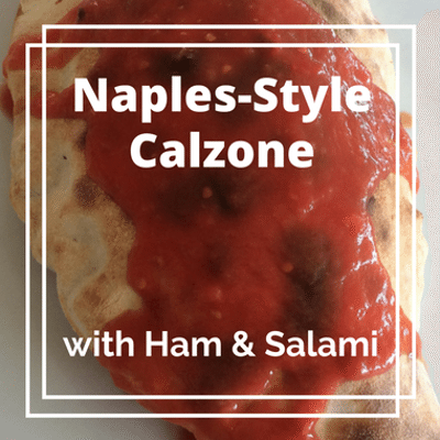 Rachael Ray: Naples-Style Calzone With Ham & Salami Recipe