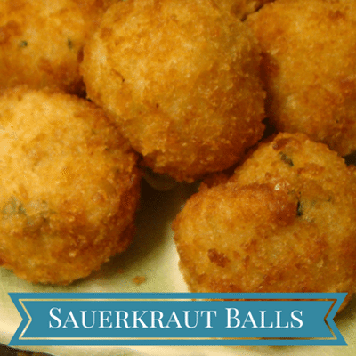 The Chew: Sauerkraut Balls Recipe