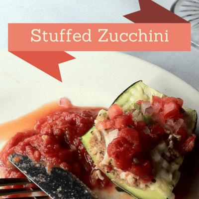 Rachael Ray: David Burke's Stuffed Zucchini Recipe
