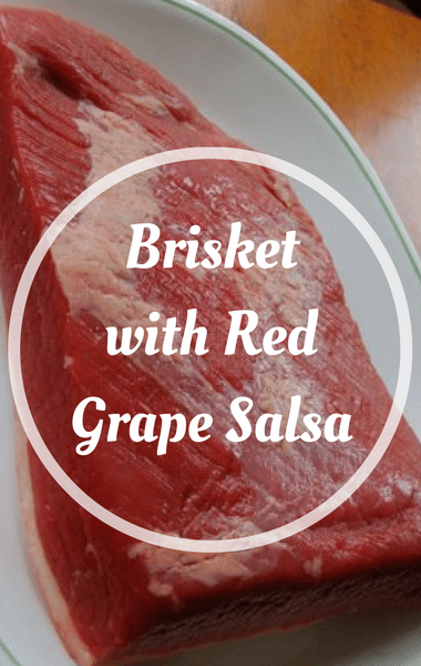 The Chew: Brisket With Red Grape Salsa Recipe