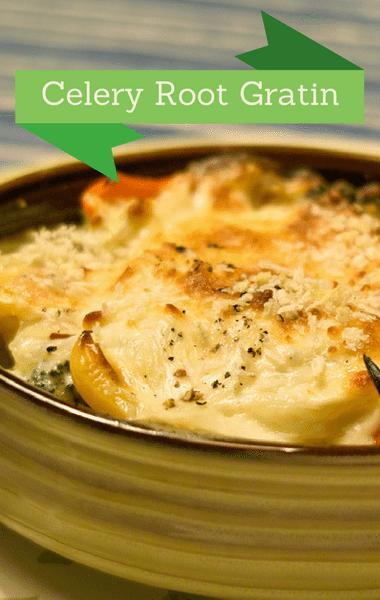 The Chew: Celery Root Gratin Recipe