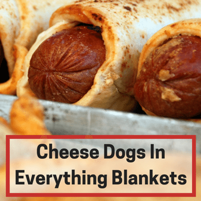 Rachael Ray: Cheese Dogs, Everything Blankets + Cranberry Mustard