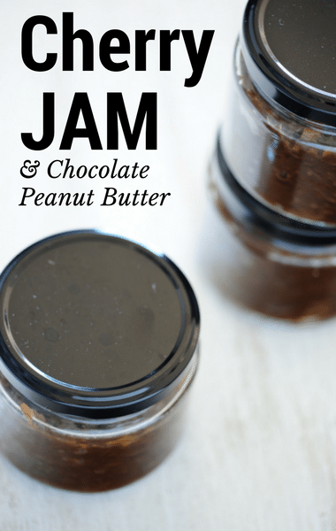 The Chew: Cherry Jam + Chocolate Peanut Butter Recipe