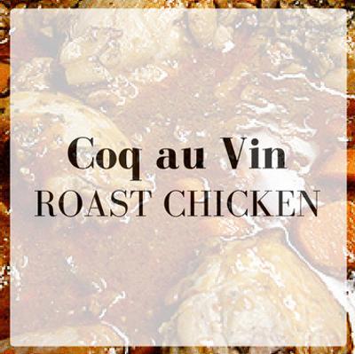 The Chew: Coq Au Vin Roast Chicken Recipe