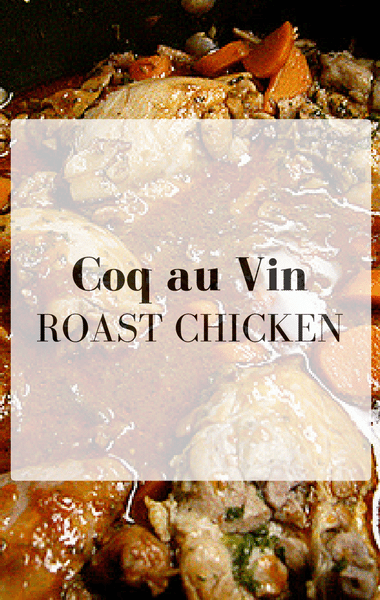 The Chew: Coq Au Vin Roast Chicken Recipe