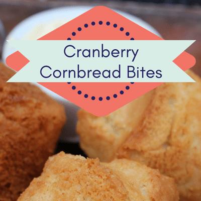 Rachael Ray: Patricia Heaton Cranberry Cornbread Bites Recipe