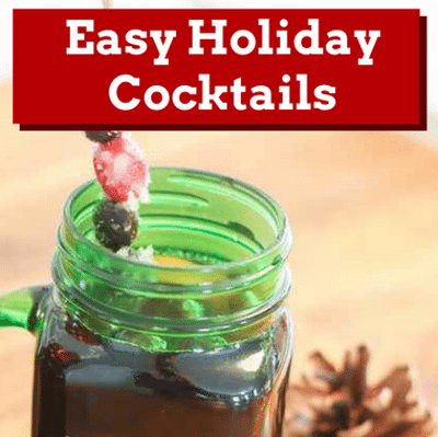 Rachael Ray: Holiday Cocktails + Peppermint-Pomegranate Cosmos