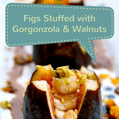 Rachael Ray: 3-Ingredient Stuffed Figs + Pommes Chef Anne Recipe