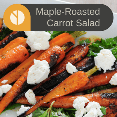 The Chew: Ina Garten Maple-Roasted Carrot Salad Recipe