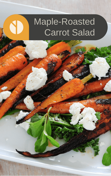 The Chew: Ina Garten Maple-Roasted Carrot Salad Recipe
