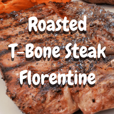 The Chew: Roasted T-Bone Steak Florentine Recipe