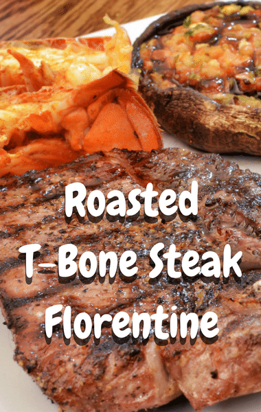 The Chew: Roasted T-Bone Steak Florentine Recipe