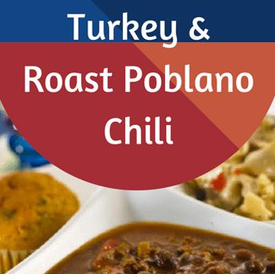 Rachael Ray: Turkey & Roast Poblano Chili Recipe