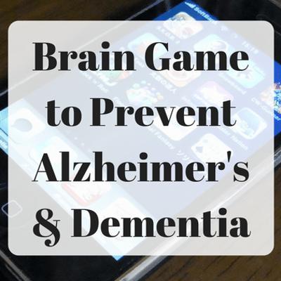 Dr Oz: Brain HQ Game Benefit & Prevent Alzheimer's, Dementia