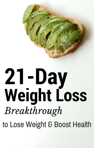 Dr Oz 21 Day Weight Loss Breakthrough Diet Plan Avocado Toast
