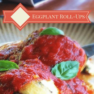 Dr Oz: Rocco DiSpirito Vegetarian Eggplant Roll-Ups Recipe