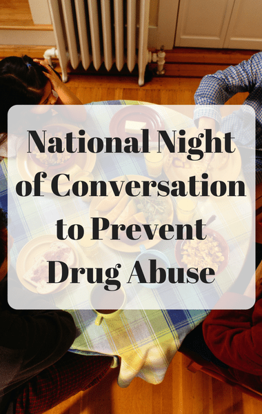 Dr Oz: National Night of Conversation: Family Dinner Stops Drugs