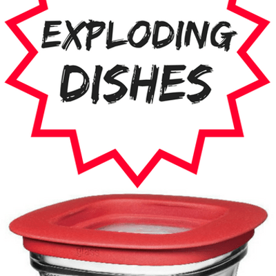 Dr Oz: Exploding, Shattering Glasses + Microwave Safe Dishes