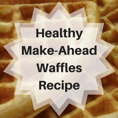 Dr Oz: Daphne Oz Make Ahead Healthy Warrior Waffles Recipe