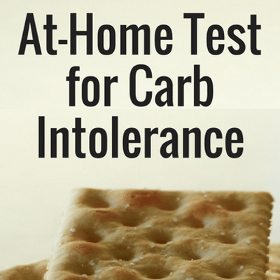 Dr Oz: Carb Tolerance Cracker Self Test + Are You Carb Intolerant