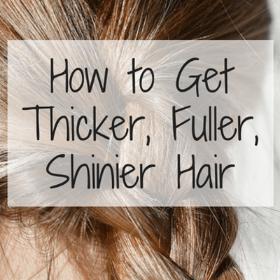 Dr Oz: Grow Thicker, Fuller, Shinier Hair + Minoxidil & DIY Mask
